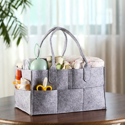 £10.99 • Buy Mrs Hinch Grey Baby Storage Organizer Bag Caddy Home Cleaning Compartments Nappy