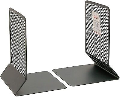 £6.99 • Buy Osco Mesh Bookends - Graphite (Pack Of 2)