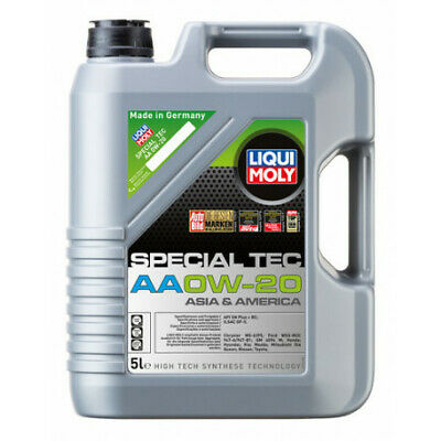 AU109.95 • Buy Liqui Moly Special Tec AA High Tech Synthese Technology Engine Oil 0W-20 5L F...