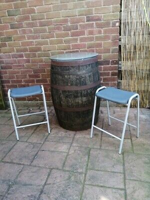 £10 • Buy STACKING Lab Stools Pub Garden Chairs Laboratory Indoor/Outdoor 10 AVAILABLE