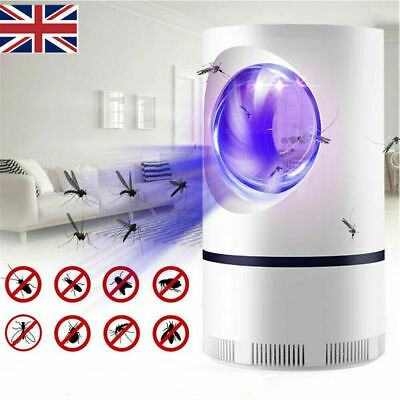 £6.19 • Buy Electric Mosquito Killer Lamp USB UV Insect Fly Pest Bug Zapper Catcher Trap UK