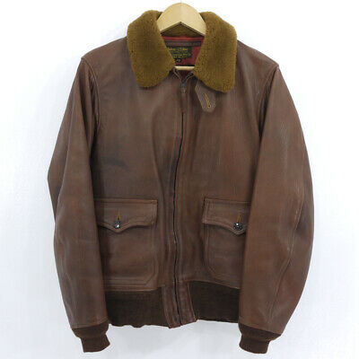 $1590.02 • Buy Secondhand Freewheelers Free Wheelers Leather Jacket M-422 Brown Size 40 F093