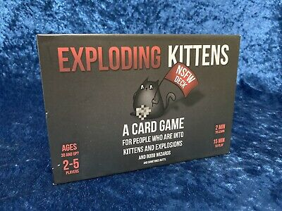 AU22.90 • Buy Exploding Kittens NSFW Edition Like New