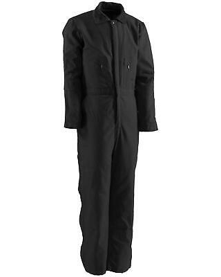$99.97 • Buy Berne Men's Duck Deluxe Insulated Coveralls - 3XL And 4XL Black XXX-Large