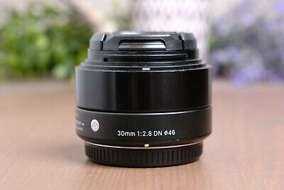 $109.95 • Buy Sigma 30mm F/2.8 DN A (Art) AF Lens For Micro Four Thirds (M43) With Caps
