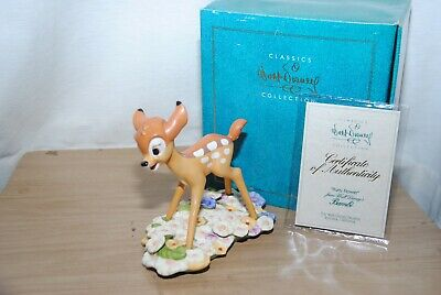 £57 • Buy Wdcc / Walt Disney Classic Collection Bambi Purty Flower Figurine