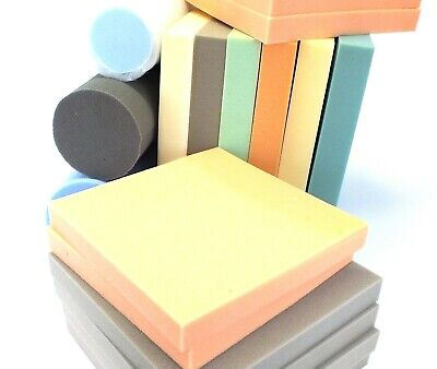 £6 • Buy Upholstery Foam Cushions * Sheets High Density Pink/Grey Foam Seat Pads Any Size