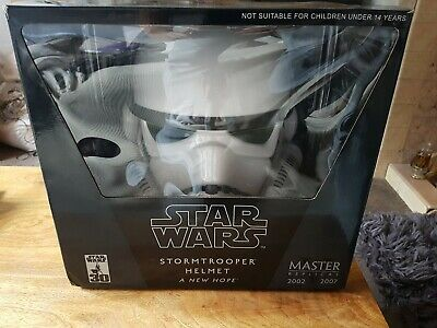 £250 • Buy Master Replicas SW-153 CE A New Hope  Stormtrooper Helmet Full Size New & Sealed