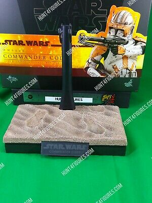$ CDN68 • Buy Hot Toys MMS524 Commander Cody Star Wars ROTS 1/6 Action Figure's Base Stand