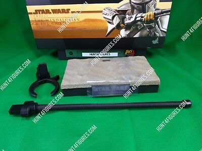 $ CDN60.72 • Buy Hot Toys TMS015 Disney Mandalorian 1/6 Action Figure's Base Stand Only