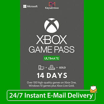 $ CDN3.95 • Buy XBOX LIVE 14 Day GOLD + Game Pass Ultimate + EA Access Code INSTANT 24/7