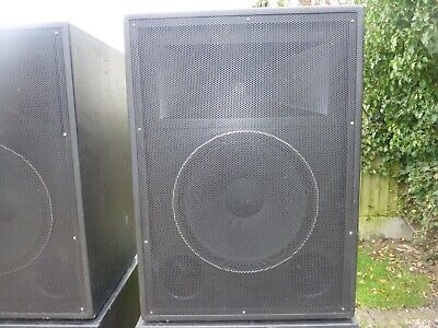 £75 • Buy Mid/Hi Speaker Cabs (unloaded) - High Quality Made Out Of 18mm Ply