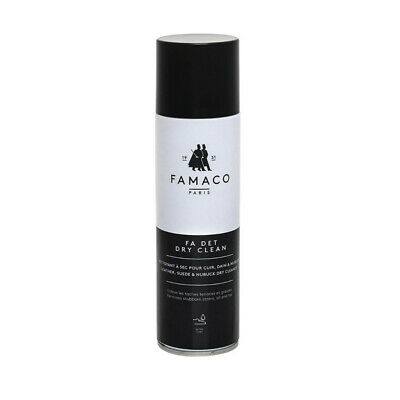 £11.99 • Buy Famaco Fa Det Dry Clean Suede Leather Cleaner Nubuck Stains Oil Remover Spray