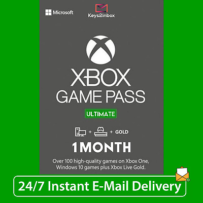 $ CDN6.13 • Buy 1 Month Xbox LIVE GOLD + Game Pass Ultimate + EA Access | 2 X 14 Day | INSTANT