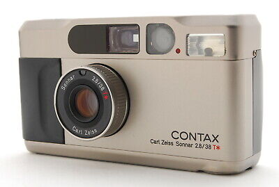 $ CDN1165.85 • Buy  EXC+++++  Contax T2 35mm POINT & SHOOT Film Camera From Japan
