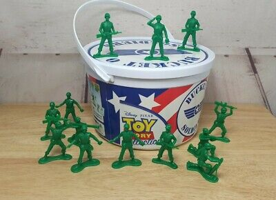 £14.99 • Buy Disney Thinkway Toy Story Collection Army Men Toys Bucket O Soldiers