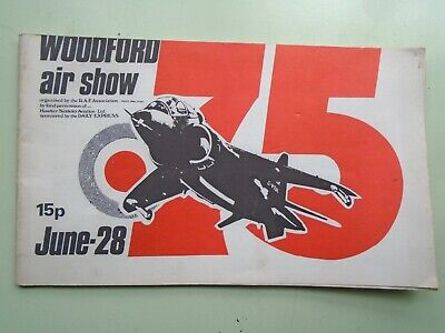 £5.20 • Buy Woodford Air Show Programme.