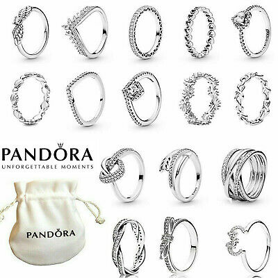 £9.66 • Buy 2021 NEW Genuine Sterling Silver Pandora Sparkling Family Ring & With Gift Bag