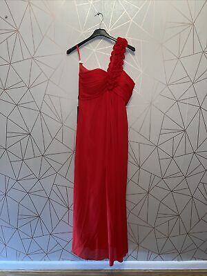 £14.40 • Buy 840 Ladies Red  Grace Karin Long Evening/Prom Dress Size 12 New