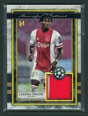 £14.86 • Buy 2021 LASSINA TRAORE 34/50 PATCH TOPPS UEFA CHAMPIONS LEAGUE (read)