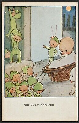 $20.02 • Buy MABEL LUCY ATTWELL Postcard I'se Just Arrived  Fairies (boo Boos)