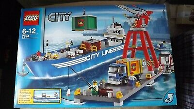 £395 • Buy LEGO City Harbour (7994) RETIRED And RARE Set BRAND NEW SEALED