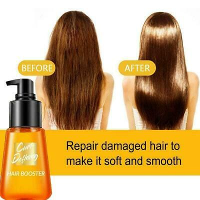 $6 • Buy Super Curl Defining Boosters Hair Fixing Hair Care Oil Essence 70ml Y M4S1