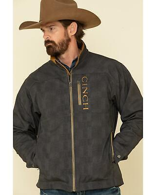 $119.99 • Buy Cinch Men's Charcoal Solid Logo Textured Bonded Jacket  Charcoal X-Large