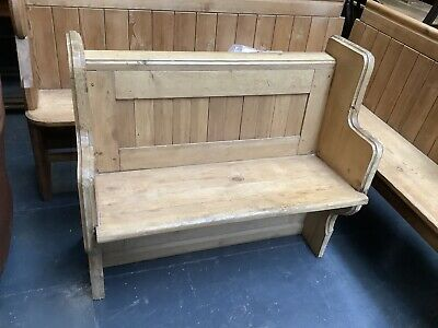 £360 • Buy Lovely Antique Victorian Pine Church Pew