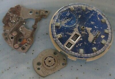 $ CDN86.86 • Buy Seiko  Chronograph  Cal 6139   MOVEMENT For Parts  , Not Complete