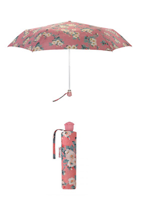 £19.90 • Buy Cath Kidston Mayfield Blossom Rose Handle Umbrella UV Dusty Pink Colour