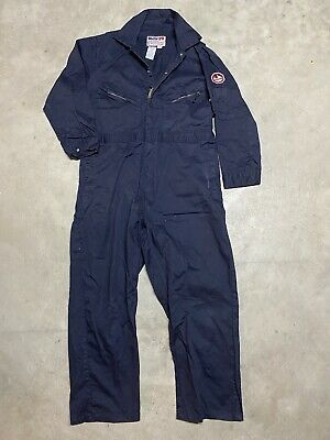 $28.50 • Buy Walls Flame Resistant FR Work Wear Blue Coveralls Overall Navy Men Size 48 Short