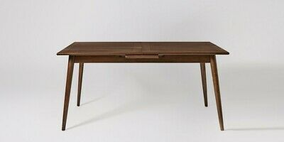 £249.99 • Buy Swoon Ginsberg Stylish Dark Brown Mango Wood Extendable Dining Table - RRP £569