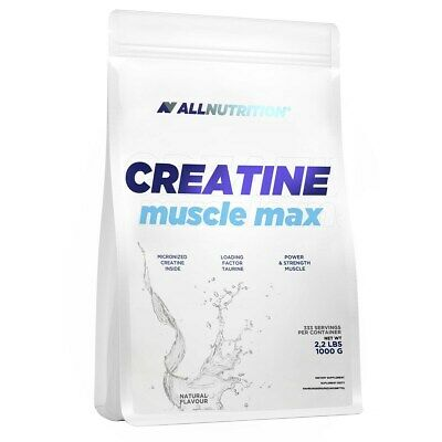 £17.99 • Buy Allnutrition Creatine Muscle Max 1000 G 166 Servings Anabolic Power ATP Resynth