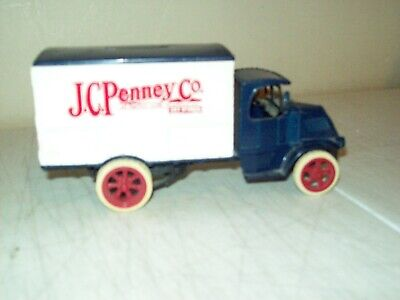 $15 • Buy Ertl Steel Mack Bulldog 1926 JC Penney Delivery Truck BANK With Working Key