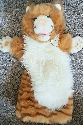£6.50 • Buy The Puppet Company Ginger Striped Cat Hand Glove Puppet 14''