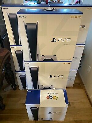 $ CDN1139.99 • Buy PS5 Sony PlayStation 5 Console Disc Version BRAND NEW SHIPS TODAY UPS EXPEDITED