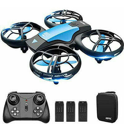 AU53.79 • Buy 4DRC V8 Mini Drone For Kids Hand Operated RC Quadcopter With 3 Batteries Longer