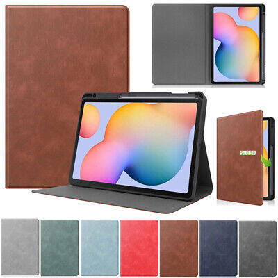 AU22.79 • Buy For Samsung Galaxy Tab S6 Lite 10.4 P610 Stand Smart Case Cover With Pen Holder