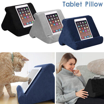 AU13.99 • Buy Lightweight Tablet Pillow Stand For IPad Book Holder Rest Lap Reading Cushion AU
