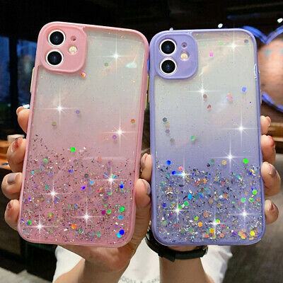 AU7.98 • Buy Glitter Powder Shockproof Case For OPPO AX7 AX5s A15 A53s AX5 A91 Reno Z Cover