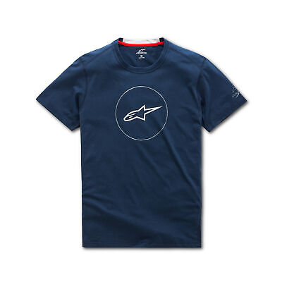 $38.95 • Buy Alpinestars 1038-73000-70-M Disk Ride Dry Tee Md Navy *All OptionsSizes & Colors