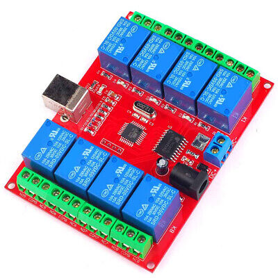 £12.69 • Buy 8 Channel 12V USB Relay Board Module Computer PC Smart Control Switch Controller