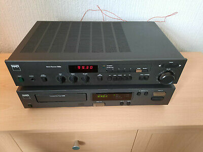 £120 • Buy NAD 7020e (3020 Amplifier With FM Tuner) + NAD 5330 CD Player