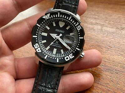 $ CDN360.35 • Buy Seiko Prospex Monster Divers 200m Black Dial Automatic Watch, Japan Made