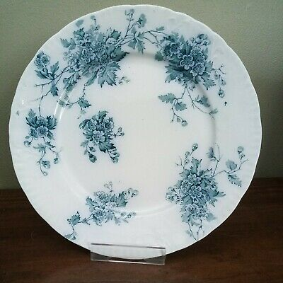 £10 • Buy Antique, Burgess And Leigh, Burleigh, Middleport Pottery 'May' Plate 10  / 25cm