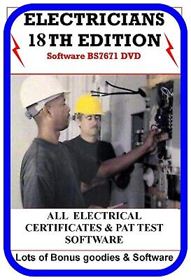£2.45 • Buy Electrical Test Certificates Software 17th Ed Pat Test 3rd Amended +bonus Items