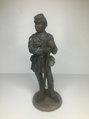 $49.97 • Buy VTG 1992 Craft House Positive Image Military Civil War African American Soldier