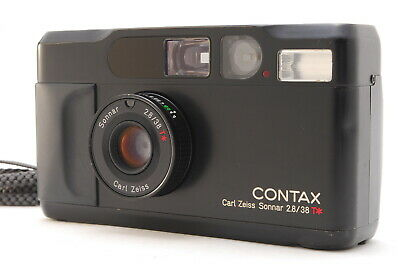 $ CDN1700.25 • Buy  AS IS: EXC+5   Contax T2 Limited Black 35mm Point And Shoot Film Camera