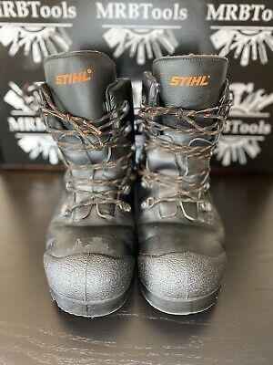 £99.99 • Buy Stihl Chainsaw Cut Protection Boots Function Leather Protection Class 1 Size 45